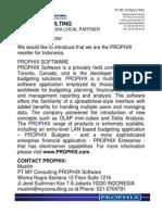 MYC Indonesia-Prophix Performance Management Software