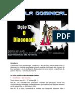 Lição 12 - Subsidio - O Diaconato.docx