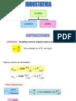 HIDROSTATICA diapositivas
