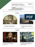 H Arte 6 - Examen y criterios de correcci¢n