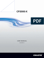 020-100031-01-Christie-CP2000-X-User-Manual