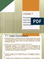 Unidad 7 Procedimientos Administrativos