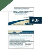 Efectos de La Operacion Portuaria en La Cadena Logistica Agroalimentaria
