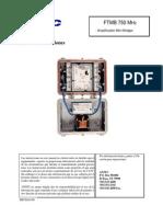 Manual Antec FTMB 750 Mhz