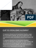 Idealismo Aleman