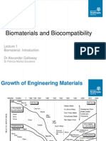 Lecture 1 Biomaterial