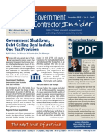 UHY Government Contractor Insider - December, 2013