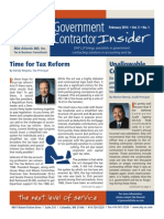 UHY Government Contractor Insider - February 2014
