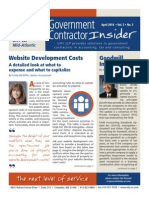 UHY Government Contractor Insider - April 2014