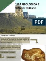 GEOGRAFIA - Estrutura Geológica e Formas de Revelo