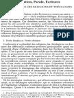 Jacques Scheuer Sj, Révélation, Parole, Écritures. Entre Histoire Des Religions Et Théologies. NRT 120-3 (1998) p.444-463