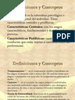 La Psicologia d Ela Personalidad en El Peru