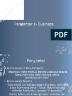 1. Pengantar e Business