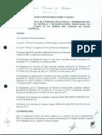 Resolución del Banco Central de Bolivia