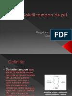 Soluţii Tampon de PH