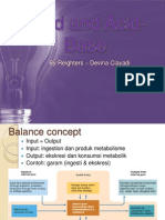 Fluid and Acid-base Balance Soca Devina Ciayadi