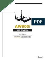 AW900i User Manual
