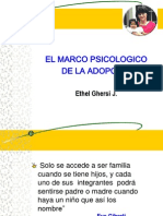Marco Psicologico ADOPCION Ppt