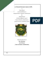 financial analysis of jspl