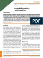 Elliot, 2010, Current Awareness of Piperazines