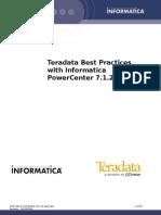 7266269 Teradata Best Practices Using a 7 1 1