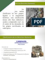 Diapositiva de La Historia de Los Derechos Humanos