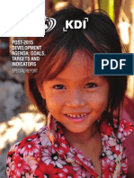 MDGs Post-2015 Development Agenda - Goals, Targets and Indicators _ Special Report Www.cigionline.org