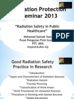 radyasyon güvenliği 1
