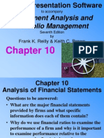 Chapter 10- Frank Reily_Investment Analysis