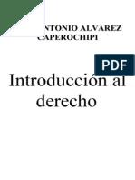 Jose Antonio Introduccion Al Derecho