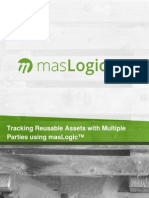 tracking reusable assets with multiple parties using maslogic