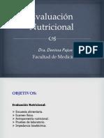 CLASE Evaluación Nutricional