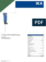 Data Sheet T 18 Digital ULTRA-TURRAX Package