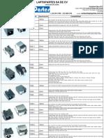 Catalogo de Jacks 2013