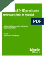 Soluciones en BT y MT Para Control Motor