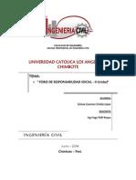 Foro de Responsabilidad Social - II Unidad- Cinthia