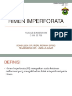 HIMEN IMPERFORATA