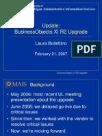 Bo XIR2 Upgrade Update 022007