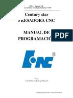 Programación de Fresadora CONTROL HNC