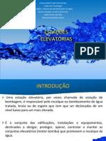 ESTAÇÕES ELEVATÓRIAS - ABASTECIMENTO DE ÁGUA 1
