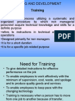 5.TRAINING AND DEVELOPMENT