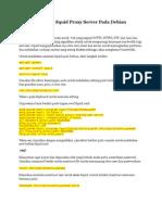 Instalasi ANONYMOUS Squid Proxy Server Pada Debian
