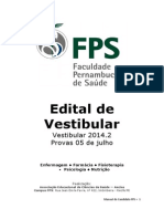 Edital Vestibular 2014.2