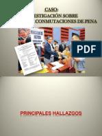 Informe Narcoindultos Pleno Congreso