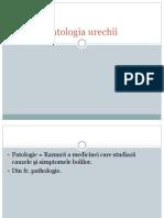 Patologia urechii 2