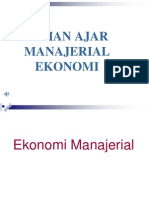 Bahan Ajar Manajerial Ekonomi