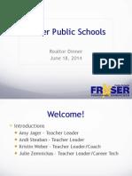 fraser public schools realtor dinner 2