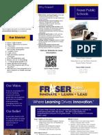 fraser marketing brochure