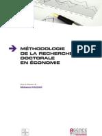 Methodologie de la Recherche Doctorale en Economie