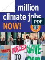 One Million Climate Jobs Now